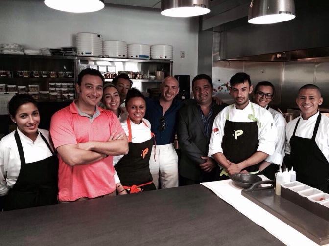 New Photo: Pitbull at Piripi in Miami.