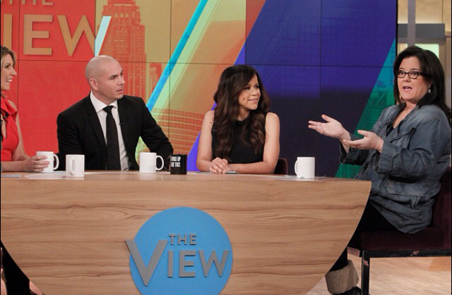 Pitbull to be on The View.