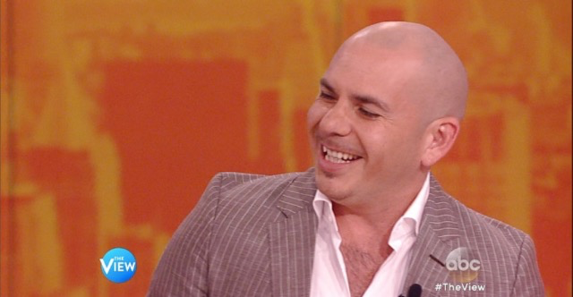 Pitbull on The View (5.19.15)