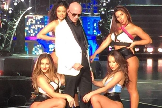 "Night three of Pitbull's ""Time of our Lives"" Vegas Residency."