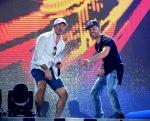 Pitbull and Yandel rehearse for PitbullNYE