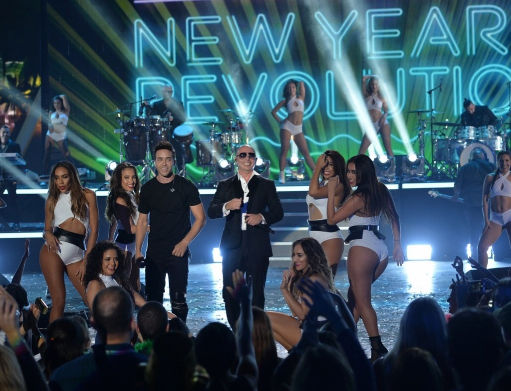 See more photos + videos from #PitbullNYE by clicking here.
