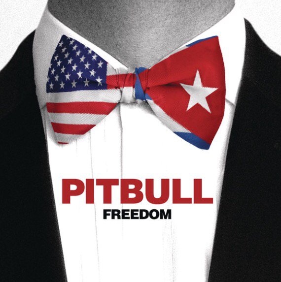 "Pitbull's latest single, ""Freedom"" available now!"
