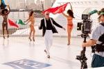 "Pitbull films music video for ""Freedom"""