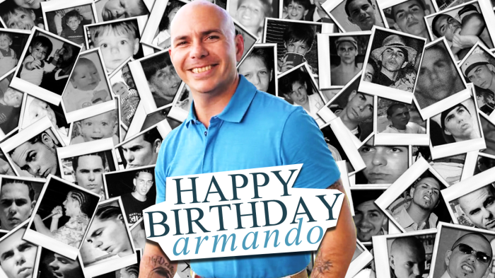 Happy Birthday Pitbull!