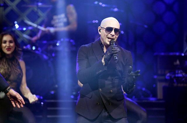 Pitbull on The Tonight Show Starring Jimmy Fallon