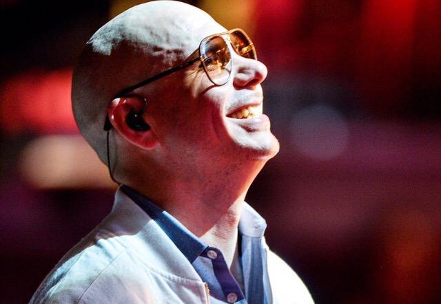 New Media: Pitbull Rehearsing for Premios Lo Nuestro
