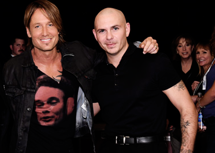 Keith Urban and Pitbull