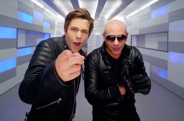 Pitbull to Collaborate with Austin Mahone, Bobby Biscayne, and Mr. Mauricio