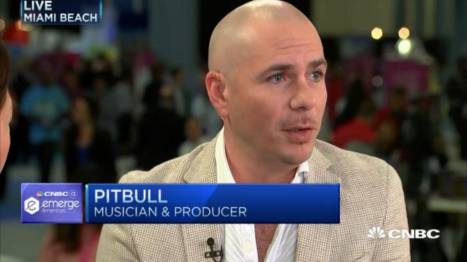 Pitbull's Business Playbook — CNBC