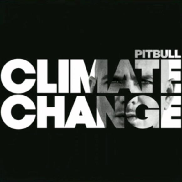 "Official Album Artwork for ""Climate Change""."