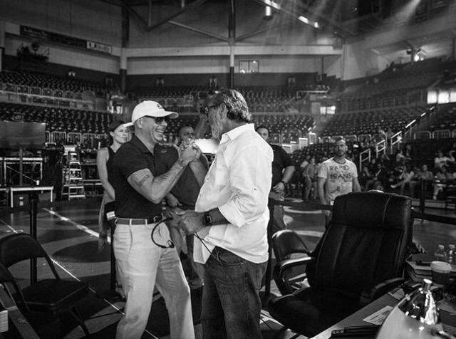 PHOTOS: Pitbull Rehearsing for Premios Juventud 2016