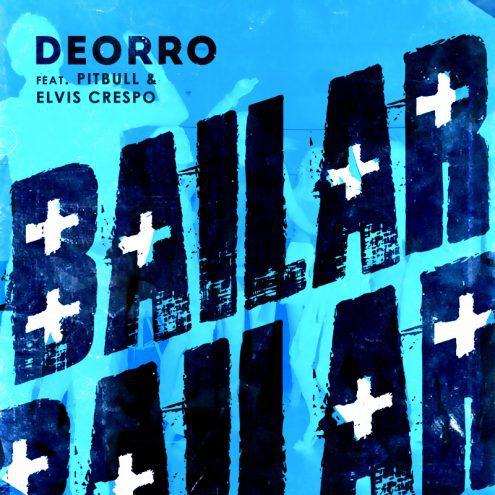 Bailar (Pitbull Remix) Official Single Artwork