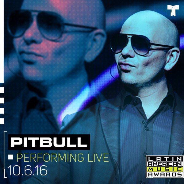 Pitbull to Perform at the Latin American Music Awards