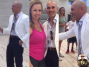Pitbull Visits SLAM! Nevada for MTV's Ultimate Fan Experience