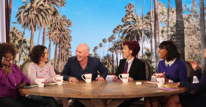 Preview: Pitbull on The Talk