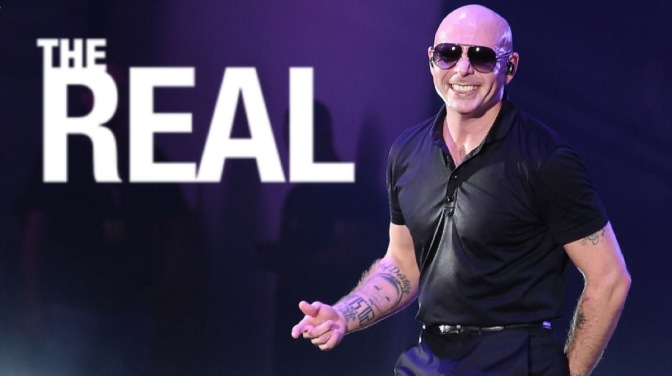 Pitbull to Appear on 'The Real' Tomorrow