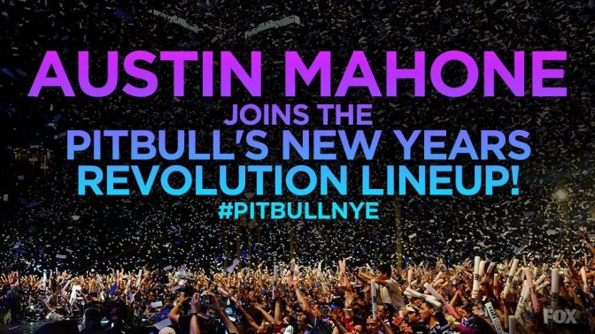Austin Mahone to Perform at 'Pitbull's New Year's Revolution'