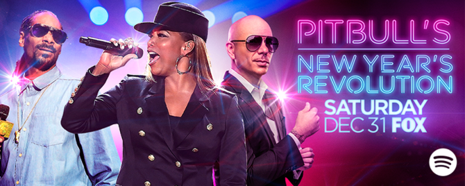 Decide Which Song Pitbull Performs on 'Pitbull's New Year's Revolution'