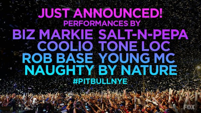 Hip-Hop Legends to Ring in the New Year on 'Pitbull's New Year's Revolution'