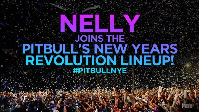 Nelly to Perform at 'Pitbull's New Year's Revolution'