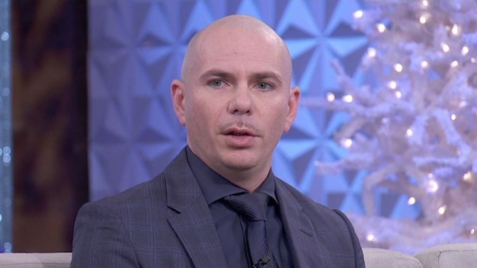 WATCH: Pitbull Gets Interviewed on 'The Real'