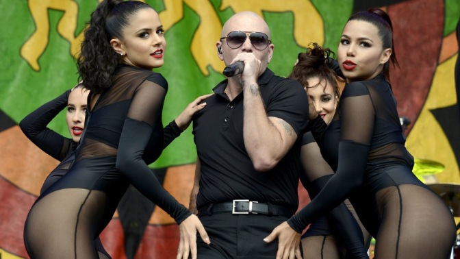 Pitbull to Perform at the New Orleans Jazz & Heritage Festival