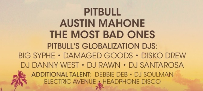 Pitbull After Dark Party – The Pitbull Cruise — FULL LINEUP