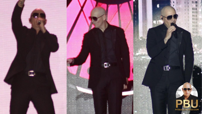 Pitbull Brings The Party to Thackerville, OK