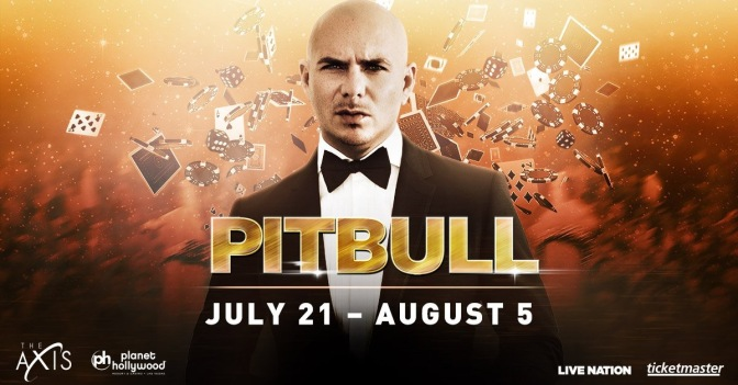 Tickets On-Sale NOW for Pitbull's 'Time Of Our Lives' Residency