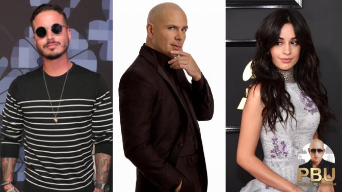 Pitbull to Shoot Music Video with Camila Cabello & J Balvin in Miami