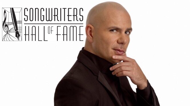 Pitbull to Receive First-Ever Global Ambassador Award at 2017 Songwriters Hall of Fame