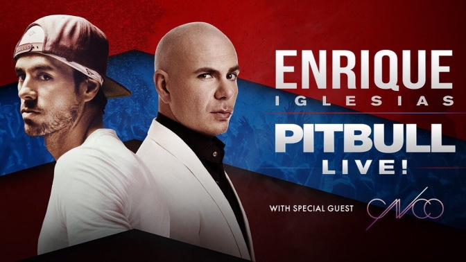 Tickets On-Sale NOW for the 2nd Leg of the Enrique Iglesias & Pitbull Live! Tour