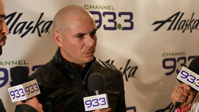 Pitbull Talks 'Climate Change', New Tour with Enrique Iglesias & More with Channel 93.3