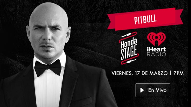 Pitbull 'Climate Change' Release Party to Stream on iHeartRadio
