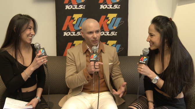 Pitbull Talks 'Climate Change', Camila Cabello, & More with 103.5 KTU