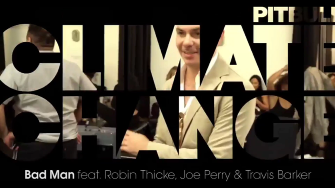 VIDEO: Pitbull's 'Climate Change' Preview