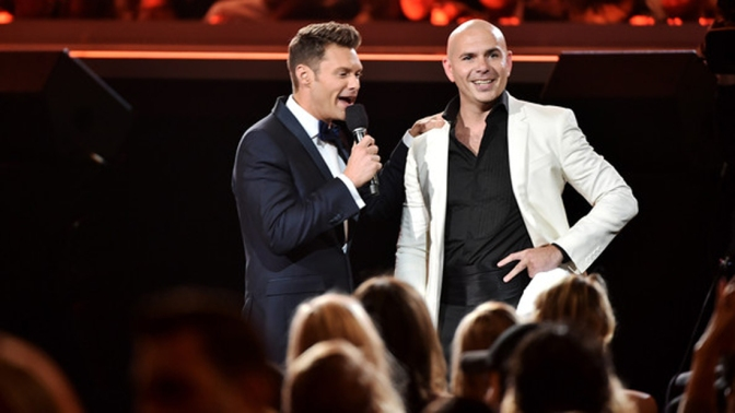 Pitbull Talks New Album, Relationship Status & More with Ryan Seacrest