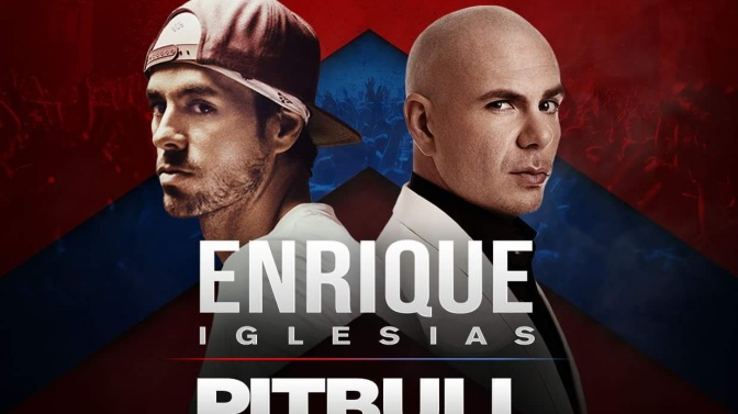 Pitbull and Enrique Iglesias to Perform in Sacramento, CA