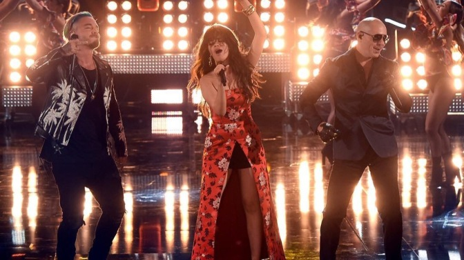 WATCH: Pitbull, Camila Cabello & J Balvin Perform 'Hey Ma' at the MTV Movie & TV Awards