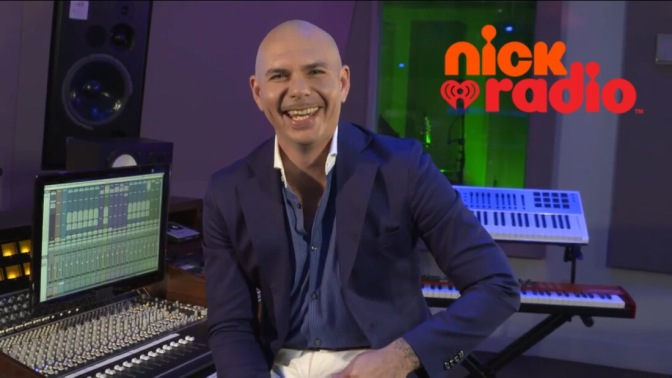 Pitbull is Taking Over Nick Radio as Guest DJ