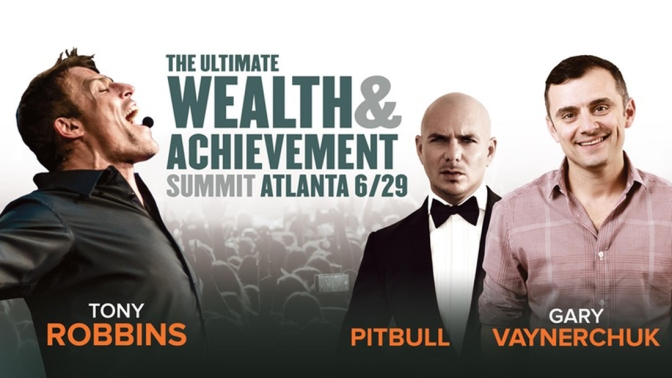 Pitbull to Speak at The Ultimate Wealth & Achievement Summit in Atlanta