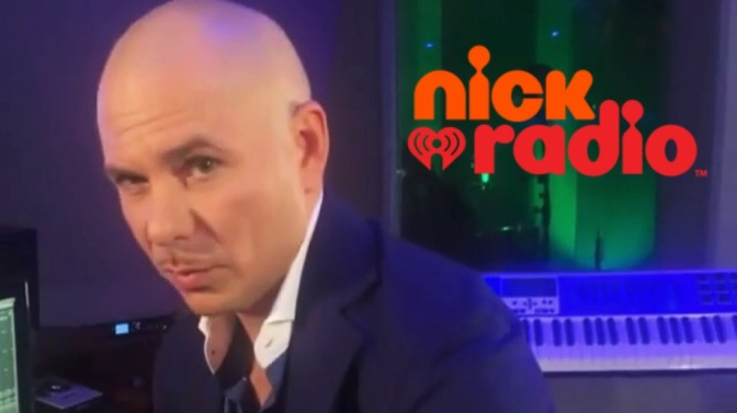 [AUDIO]: Pitbull Takes Over Nick Radio as Guest DJ