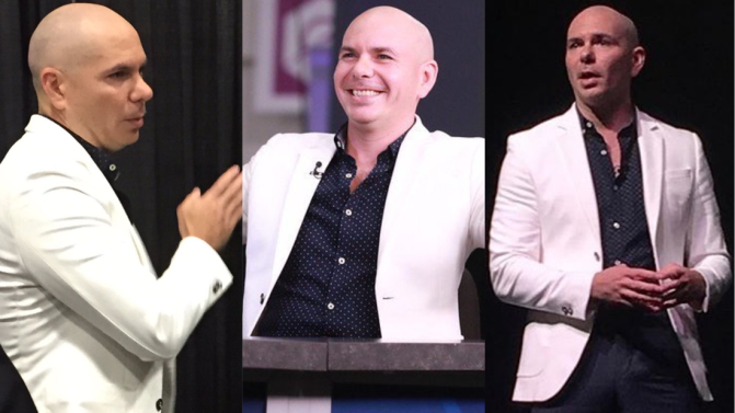 Pitbull at eMerge Americas 2017
