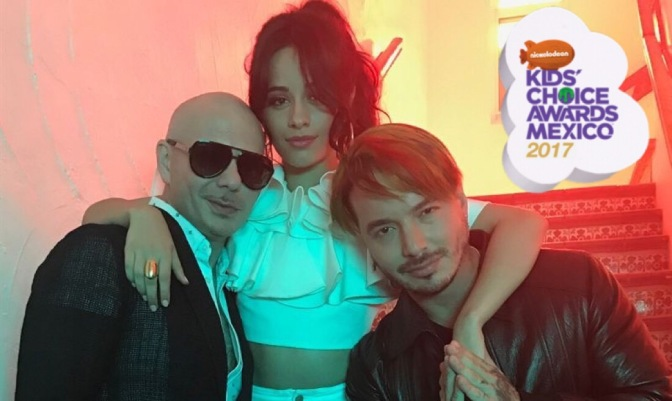 Vote for 'Hey Ma' by Pitbull & J Balvin ft. Camila Cabello at the Kids Choice Awards Mexico
