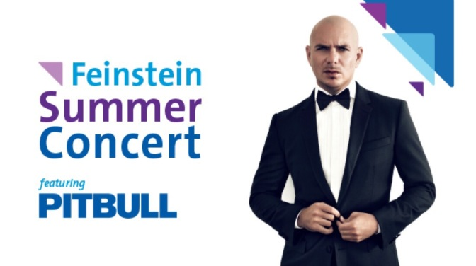 Pitbull to Perform at the 2017 Feinstein Summer Concert