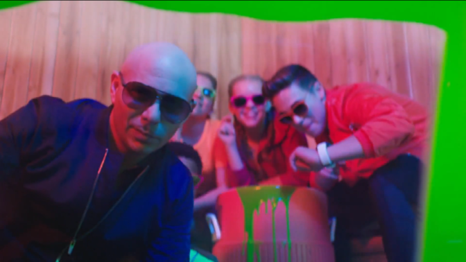 VIDEO: Pitbull's 'Green Slime' Music Video for Kid's Choice Sports 2017