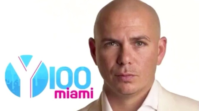 [AUDIO]: Pitbull Interview with Y100 Miami