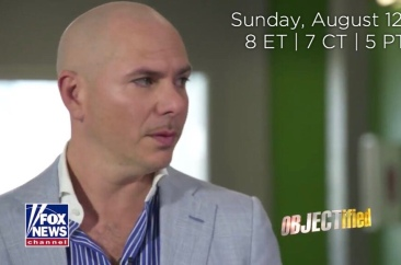 WATCH: Previews of Pitbull on 'OBJECTified' with Harvey Levin