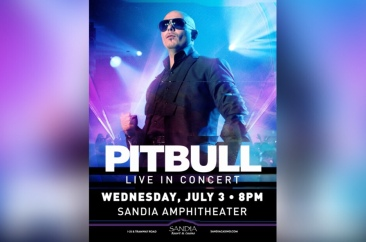 Pitbull to Perform at Mystic Amphitheater in Prior Lake, MN